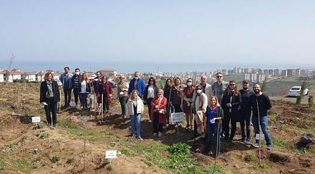 Samsun'da Korona nedeniyle hayatını kaybeden eczacılar unutulmadı