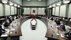 Gözler Kabine Toplantısı'nda