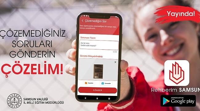 Samsun'da Rehberim Samsun Uygulamasına yoğun talep