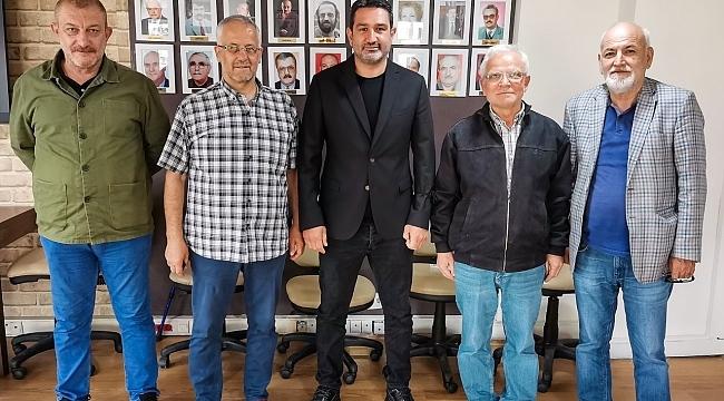 Samsunspor'dan TSYD Samsun Şube Başkanı Demir'e ziyaret