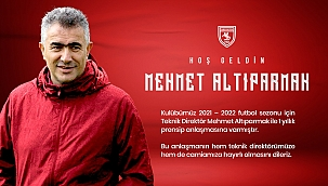 Samsunspor Mehmet Altıparmak ile anlaştı - samsun haber