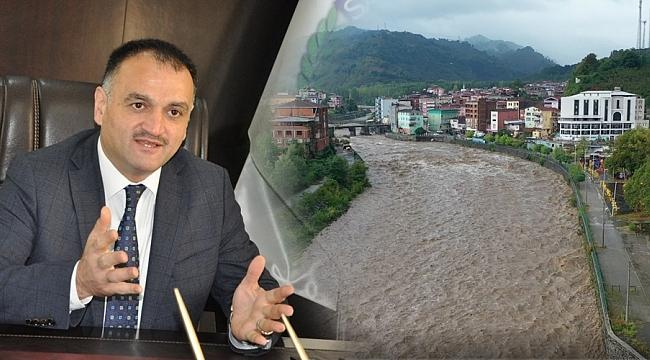 Başkan Akgül: Ekipler sele karşı hazırda bekliyor