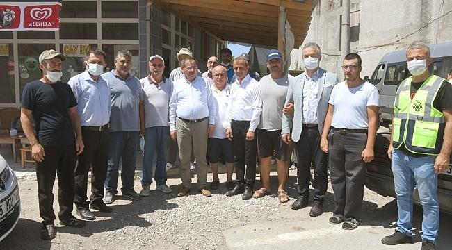 Başkan Demir: Söz verdik, alt yapı bitecek - samsun haber