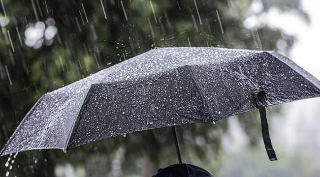Meteorolojiden Samsun'un doğusuna sağanak yağış uyarısı
