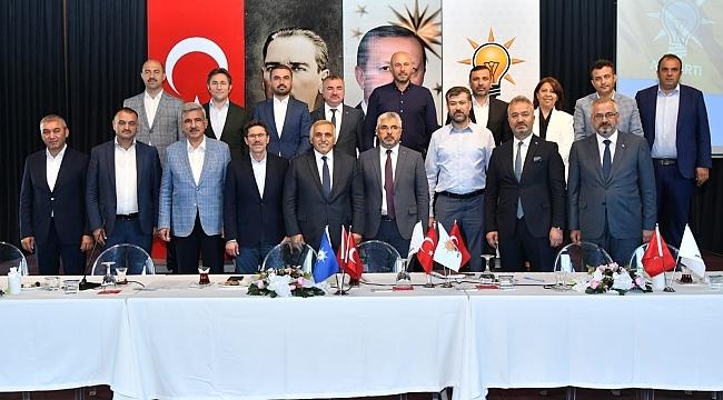 Başkan Aksu: AK Parti Hizmet ve gönül hareketidir