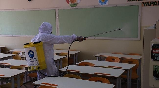 Canik'te okullar pırıl pırıl - samsun haber