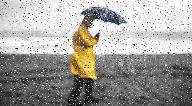 Meteorolojiden sağanak ve gök gürültülü sağanak yağış uyarısı
