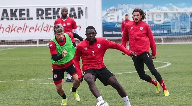 Samsunspor hazırlıklarını sürdürüyor - samsun haber