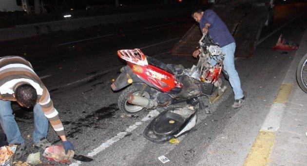 Aydın'da gece yarısı trafik kazası