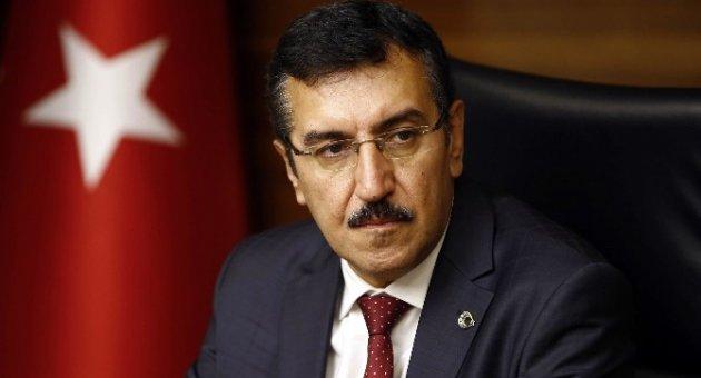 Bakan Tüfenkci Kayseri'deki terör saldırısını kınadı