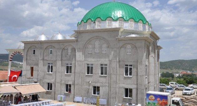 Bozüyük Medine Camii İbadete Açıldı