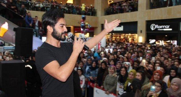 Forum Kapadokya'da Yusuf Güney izdihamı