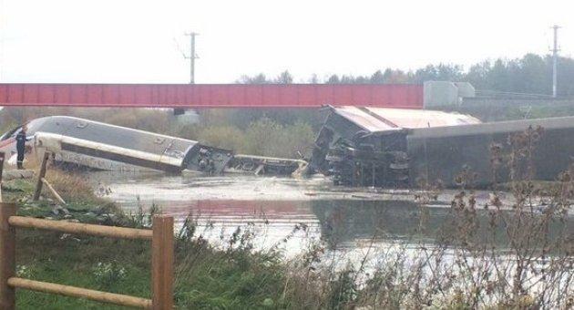 Fransa'da Tren Raydan Çıktı: 5 Ölü