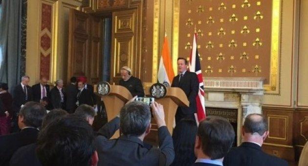 Hindistan Başbakanı Modi İngiltere'de