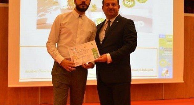 Mimarlık ve Tasarım Fakültesine Ambalaj Tasarımı Yarışması'nda ödül