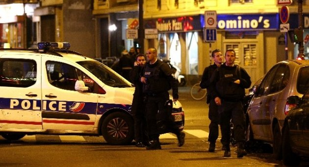 Paris'te 3 Ayrı Bölgede Saldırı