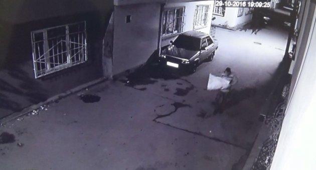 Pompalı tüfekle dehşet saçan şahsın görüntüleri ortaya çıktı