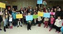 Canik'te engelli çocuklara sinema etkinliği