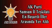 AK Parti Samsun Teşkilatı En Başarılı İller Arasında