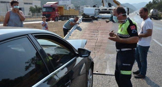Vidanjörden akan pis su kazaya neden oldu: 9 yaralı