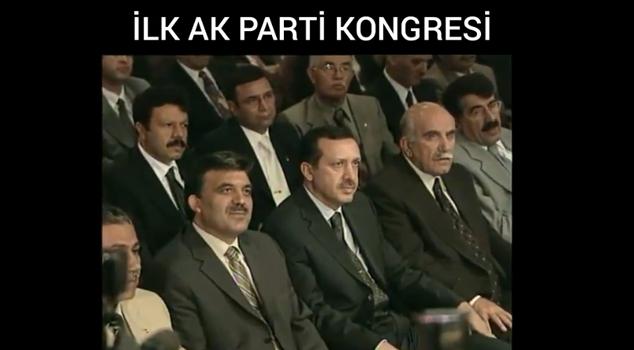 AK PARTİ'NİN İLK KONGRESİ